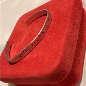 Jewelry - Alice in wonderland custom silver bracelet